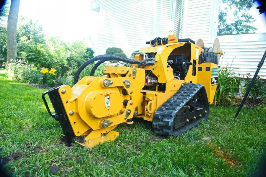The new Vermeer SPX25 vibratory plow is designed for fast and efficient cable/fiber and irrigation system installation.