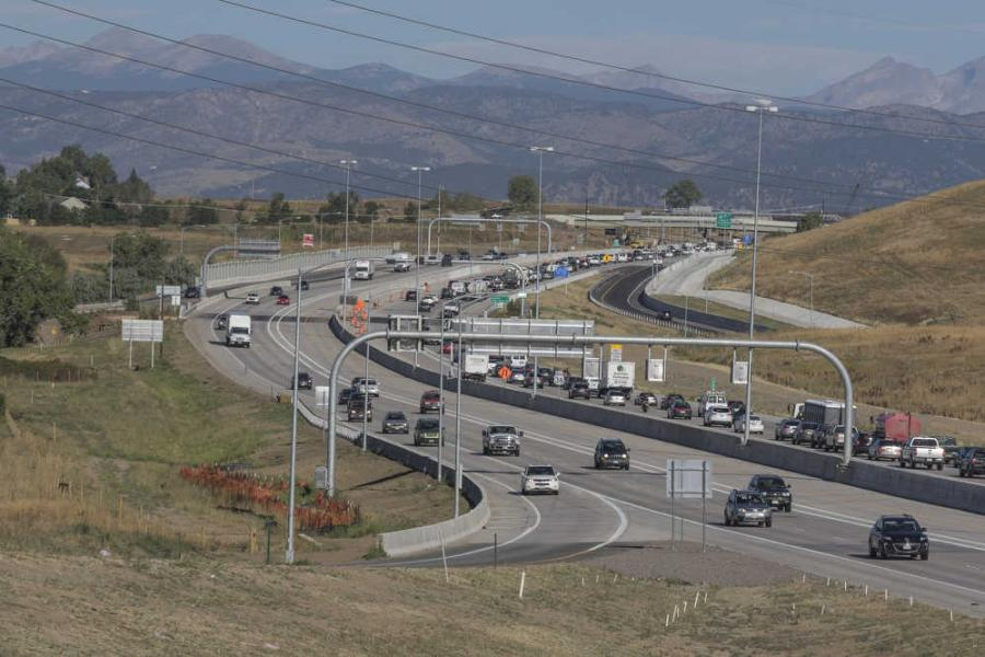 The Colorado Department of Transportation's $487 million U.S. 36 Express Lanes project earned the Grand Prize.