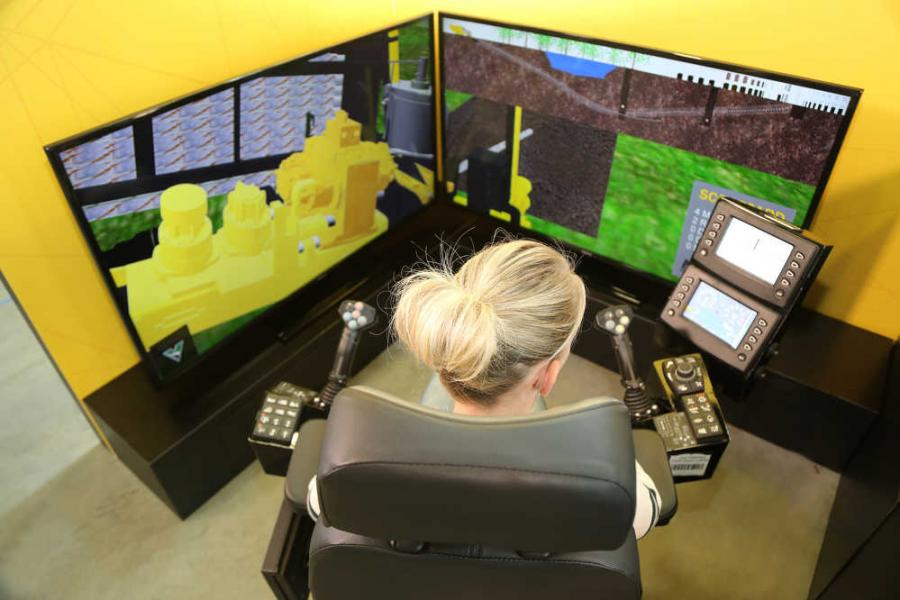 The Vermeer Navigator HDD simulator uses the same controls found on Vermeer horizontal directional drills from the D10X15 S3 to the D220x300 S3 Navigator horizontal directional drill, so it is easy for operators to quickly adapt what they learn and apply to the job site.