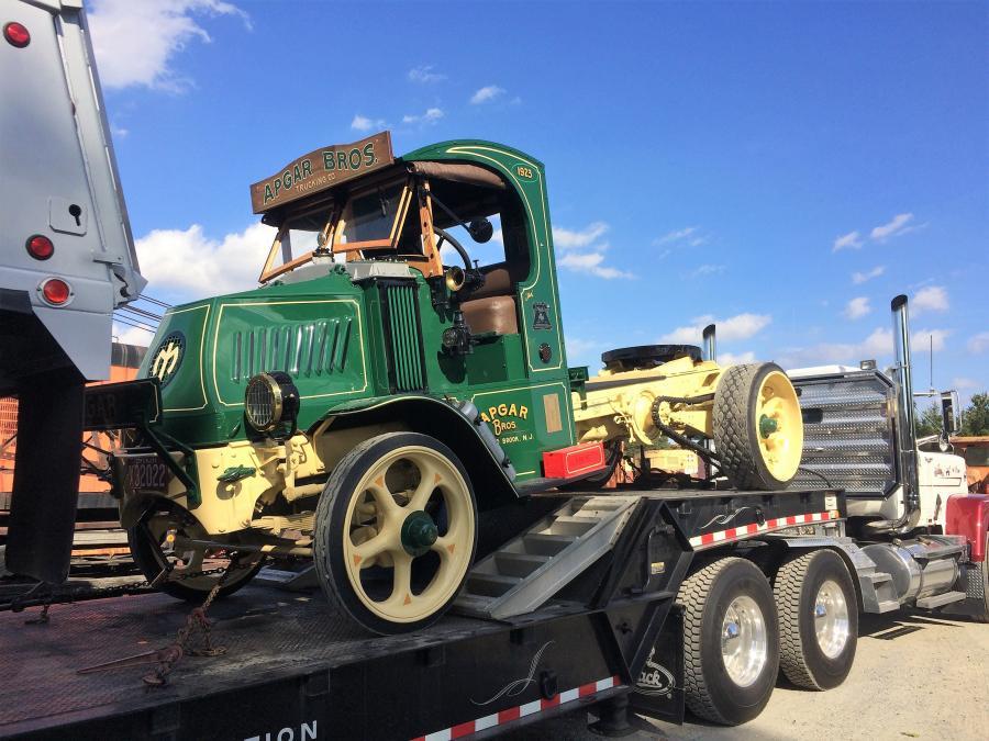 An Apgar Bros. 1923 Mack truck was on display.
