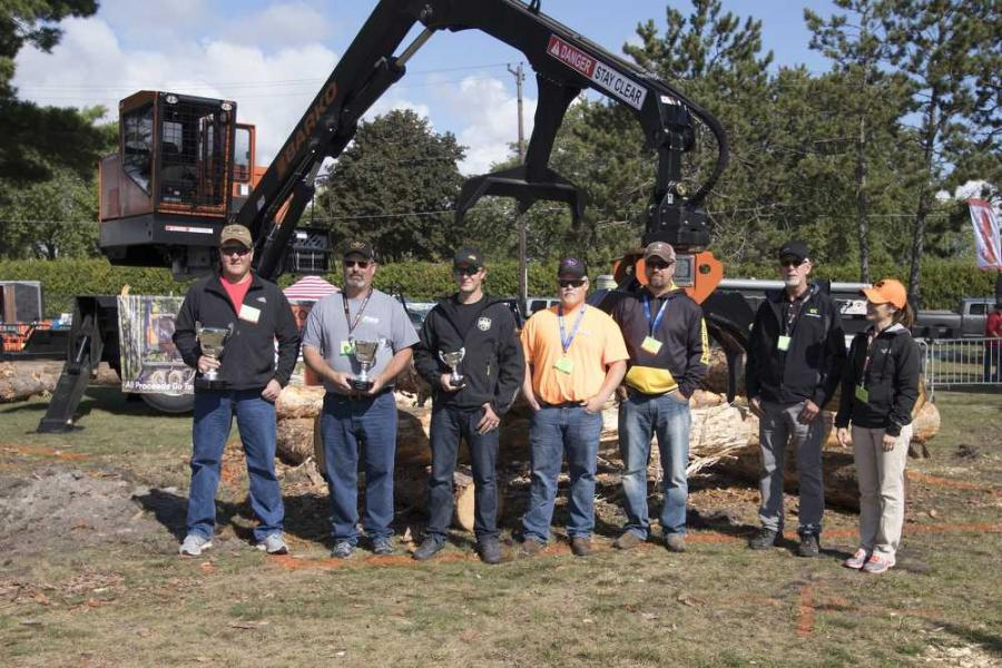 Attendees at the Great Lakes Logging and Heavy Equipment Expo in Escanaba, Mich., had the opportunity to participate in the Barko Strong-Arm Skill Challenge.
