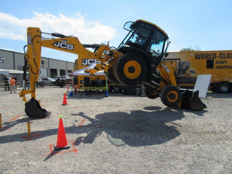 Company Wrench Holds JCB Backhoe Rodeo, Demo Event at Its