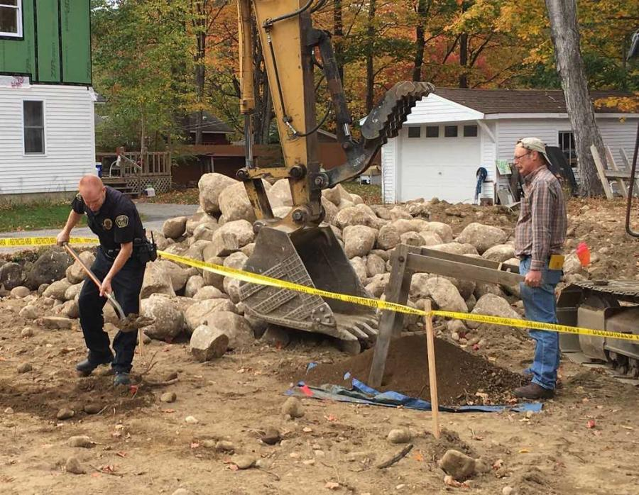 Police believe the remains were probably buried before local records were kept, saying it was unlikely the discovery was evidence for a cold case, NH1 reported.