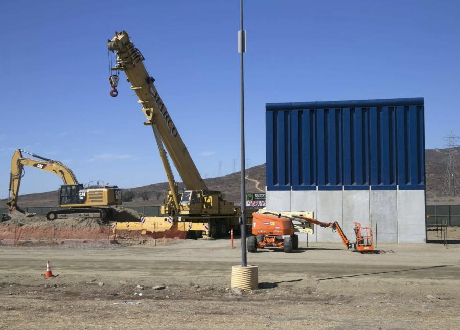 For the construction companies chosen to undertake the task, the parameters were fairly simple: Build a 30-ft. wall out of solid, reinforced concrete, The Arizona Republic reported.