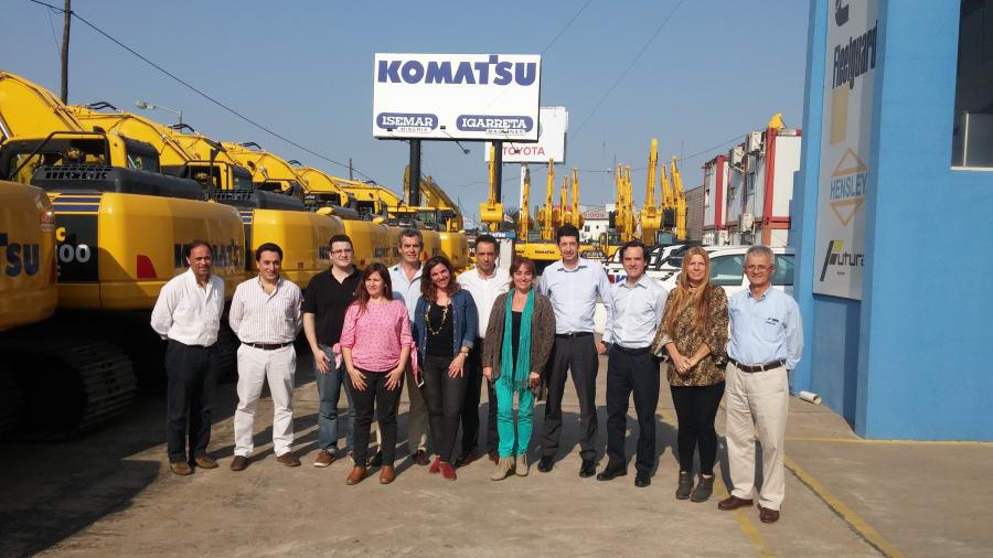 Buenos Aires-based Igarreta Maquinas is an established name through Argentina, and is also Komatsu's only official distributor in the country.