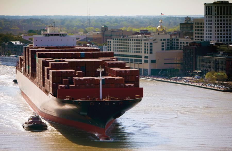 Federal money is needed to deepen the shipping channel to the Port of Savannah.
