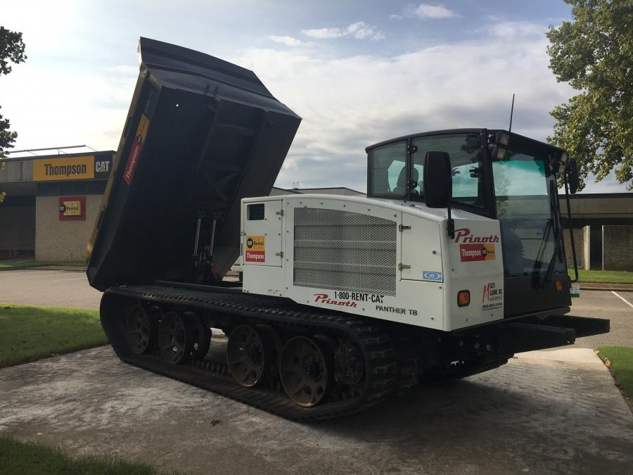 The Prinoth T8 in Memphis, Tenn.