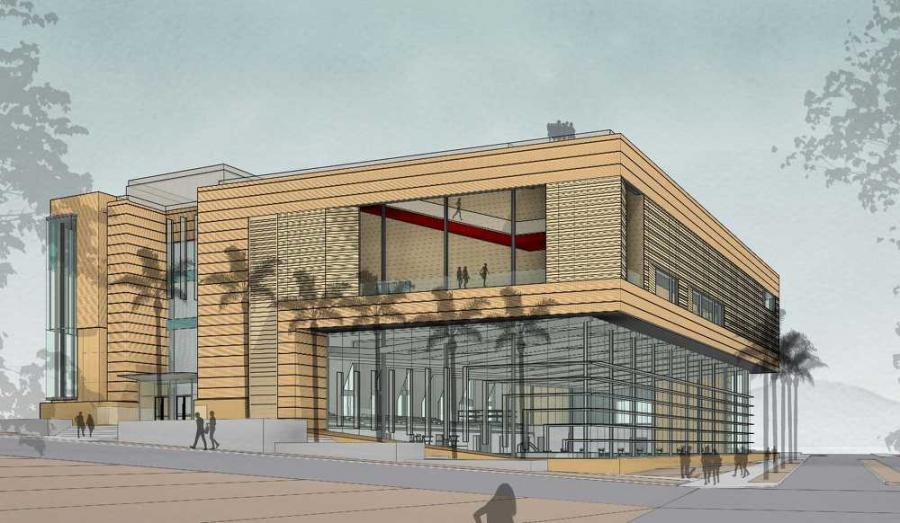 Dixie State University began construction on its new Human Performance Center with a groundbreaking ceremony and open house that celebrated the addition of the allied health facility to campus.