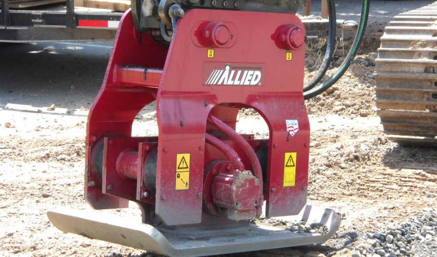 Allied offers a product line that includes 33 boom-mounted hydraulic hammer models and seven boom-mounted vibratory compactors/drivers.