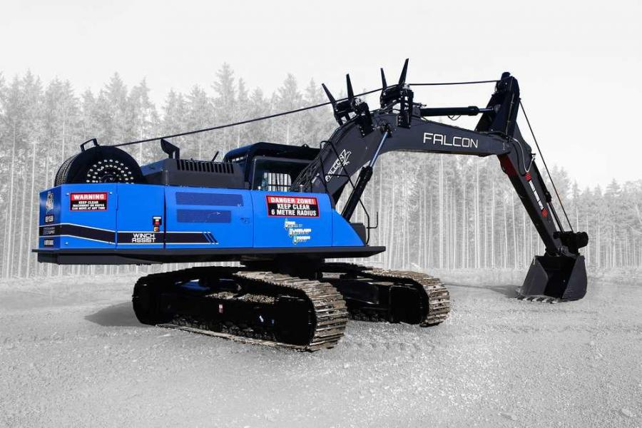 DC Equipment/Falcon Forestry Equipment machines, including the Falcon winch assist, will now be available through Modern Machinery.