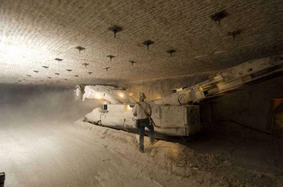 Workers are expected to begin mining operations at the U.S. nuclear waste dump in New Mexico for the first time in three years following a radiation release that contaminated part of the underground repository. (U.S. Department of Energy photo)