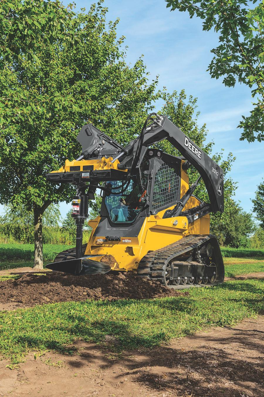 The new PA15B and PA30B augers are designed for longer product life to better meet customer needs and application uses. Like all Worksite Pro attachments, these solutions are optimized to work with John Deere skid steers, compact track loaders (CTLs), compact excavators and compact four-wheel-drive loaders, along with most competitive models.