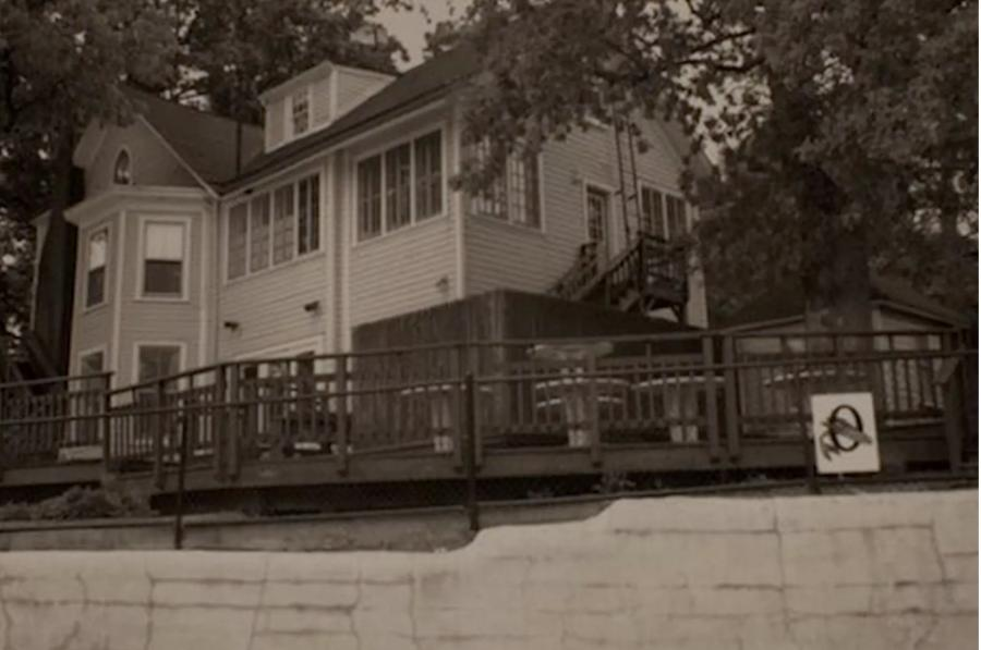 As construction crews are renovating the pool and razing the Victorian-era Febrey house, the so-called Ghost of Overlee was enough to send one construction worker home.