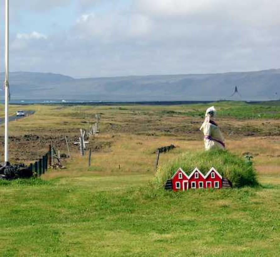 The hidden people or huldufólk are part of folklore in Iceland and in the Faroe Islands.