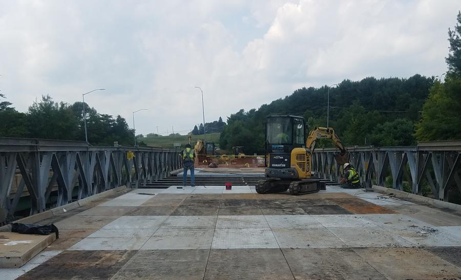 The $7.3 million project started in July and is expected to be complete by the fall of 2019. MDOT SHA's contractor is Six-M Company Inc. of Delta, Pa.