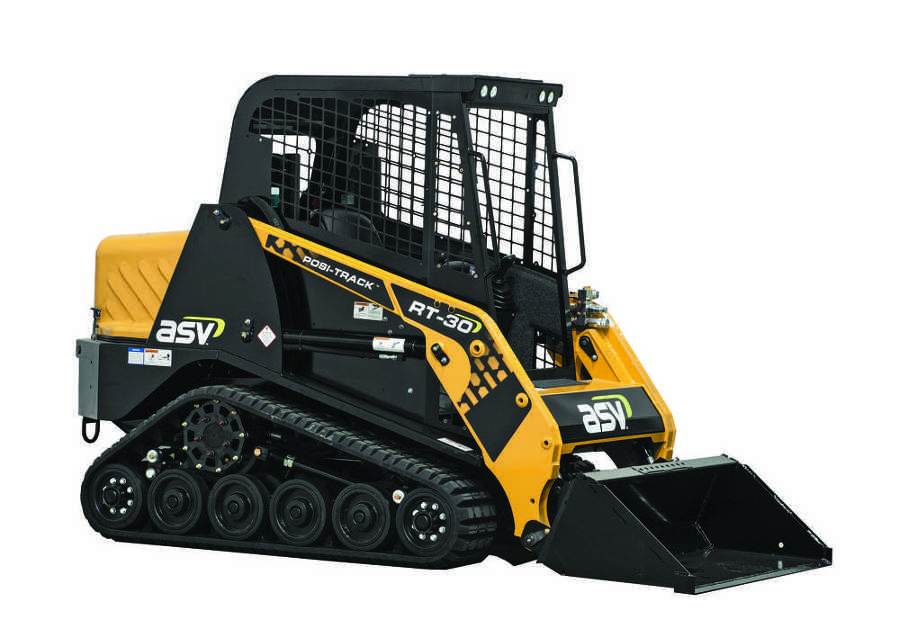 ASV has received an order for $2 million worth of RT-30 and RT-50 compact track loaders. (Photo Courtesy of ASV)
