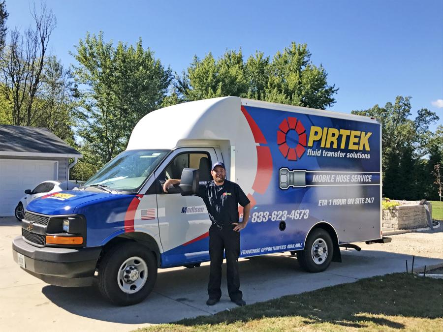 Dylan Rausch, who joined PIRTEK Menomonee Falls, Wis., in 2015, jumped at the opportunity to own his own franchise.