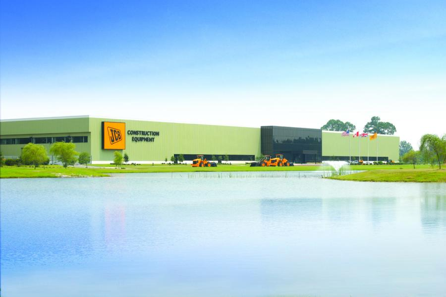 At its North American headquarters near Savannah, Ga., JCB manufactures machines for construction, agricultural and defense customers in the United States and around the world.