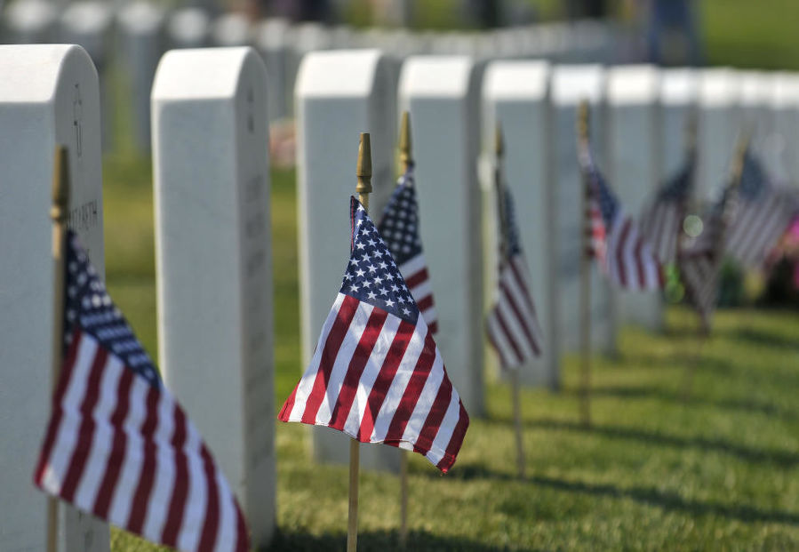 Gallup is receiving a grant of $6.7 million to fund construction of its own veterans cemetery. (Eddie Moore/Albuquerque Journal photo)