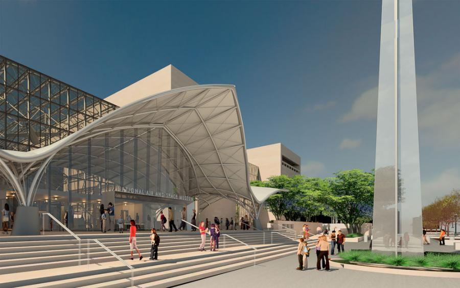 The Smithsonian has announced plans to revitalize the National Air and Space Museum and transform its exhibitions.