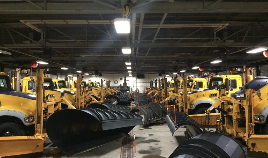 NYSDOT's fleet of snow removal equipment is ready for winter weather.