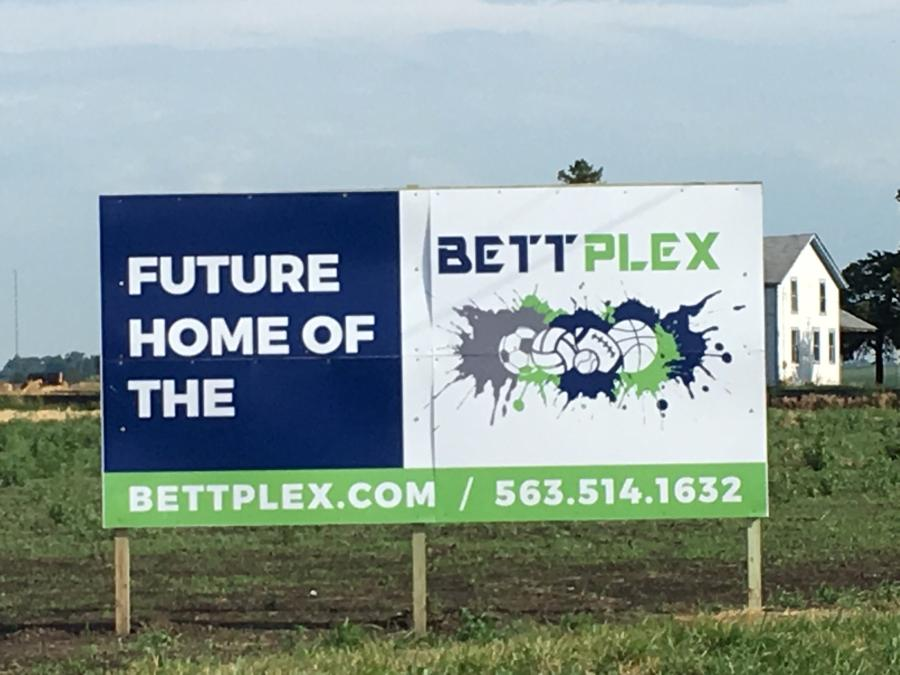 Construction has begun on the $57 million BettPlex, a 78-acre, indoor and outdoor sports center, in Bettendorf, Iowa.