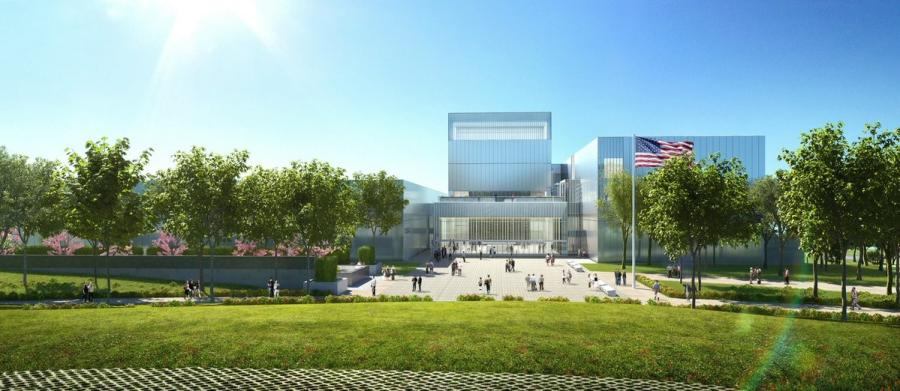 "The Army Historical Foundation says a ""topping out"" ceremony is scheduled for the morning of Nov. 17, when workers will place the museum building's final steel beam into place."