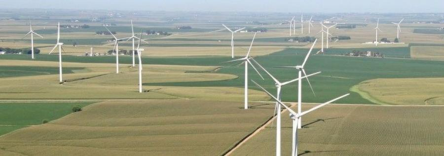 MidAmerican Energy will update more than 700 wind turbines across the state of Iowa. (MidAmerican Energy Facebook photo)