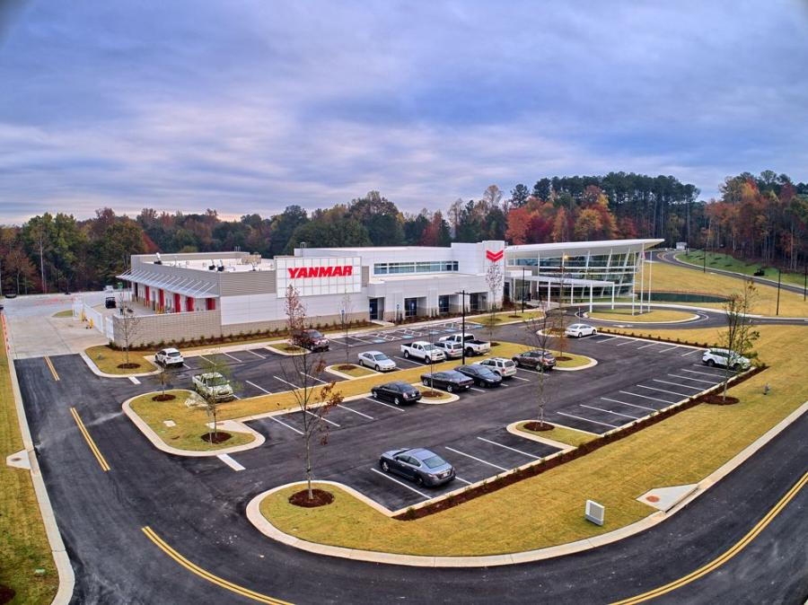 On Nov. 3, national, state and local officials joined together with Yanmar America and its honored guests to officially open the Yanmar EVO//Center located at the corner of Highway 92 and Old Alabama Road in Acworth, Ga.