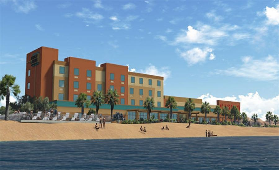 Today's News-Herald reports the 25,000 sq.-ft. Havasu Landing Resort and Casino will feature 48 hotel rooms and 320 gambling machines and tables.