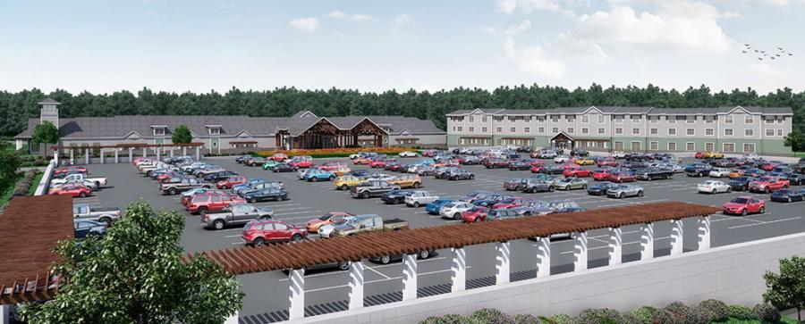 The casino in Tiverton is now scheduled to open in Oct. 2018. It is expected to cost $140 million, up from $75 million.