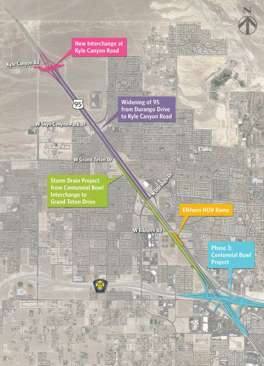 The Nevada Department of Transportation (NDOT) awarded a $64.6 million construction contract to Las Vegas Paving to widen and upgrade a 6-mi.-long stretch of U.S. Highway 95.