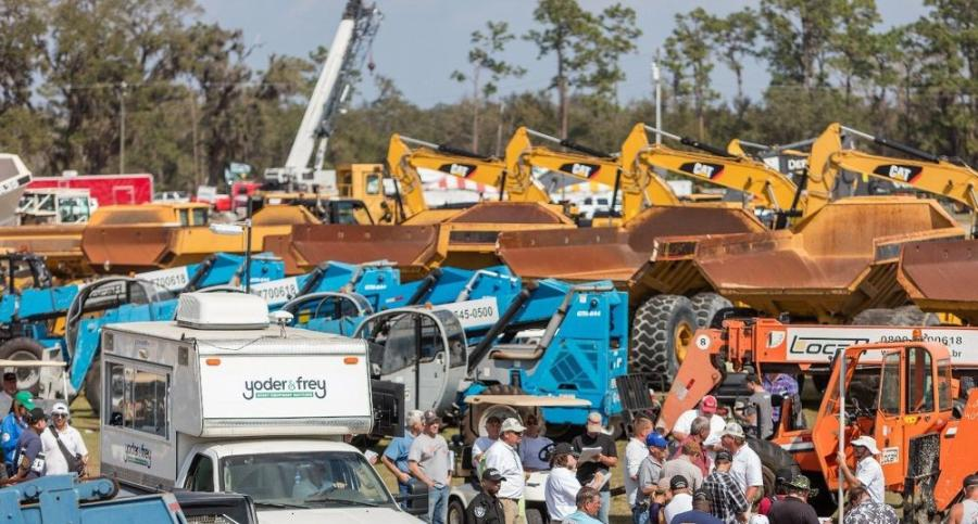 Yoder & Frey, auctioneers of heavy construction equipment in the United States, will be hosting a large engine sale consisting of specialized engines and power plants for heavy trucks and construction machinery at the upcoming Kissimmee, Fla., winter sale to be held Feb. 13 to 17, 2018.