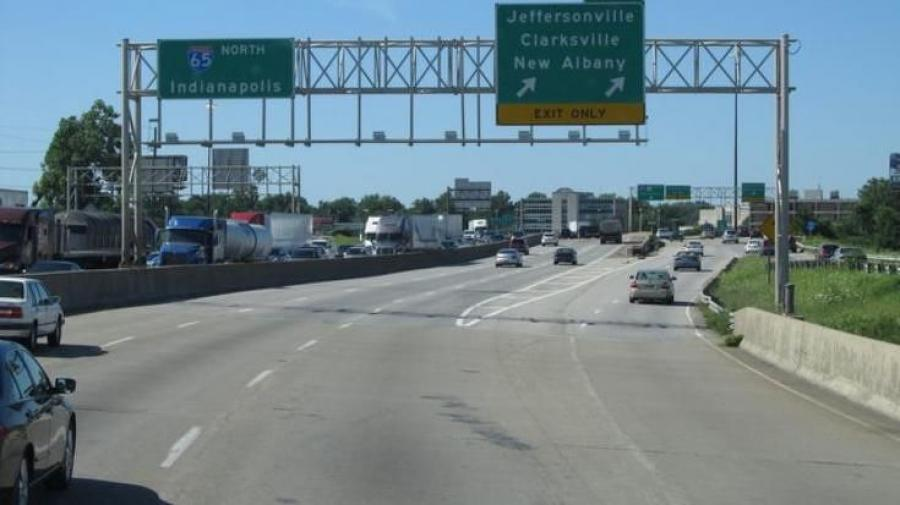 Indiana Department of Transportation officials said motorists will be able to use six lanes by early December.
