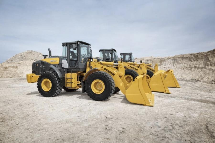 Kirby-Smith Machinery will represent the full line of KCM Wheel Loaders.
