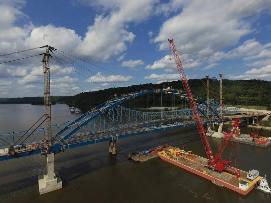 IDOT Spends $80 6M to Replace Aging Bridge | Construction