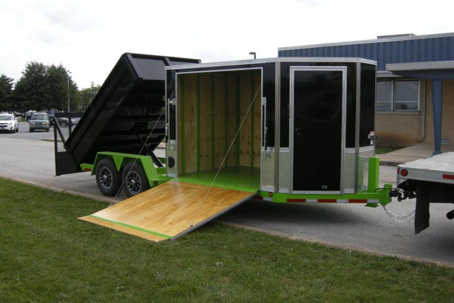 The Ultimate Combo is equipped with a landscape ramp/gate allowing for easy loading, unloading and transport of additional and larger equipment.