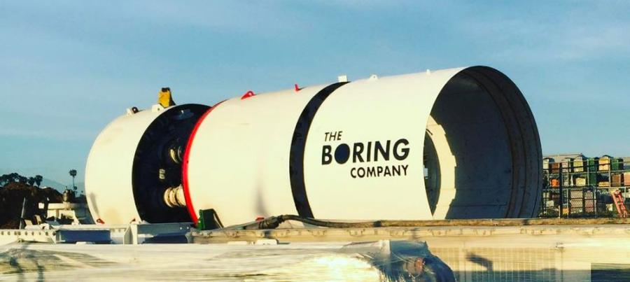 The Boring Company will bid for a contract to build and operate a high-speed Loop connecting downtown Chicago to O'Hare Airport, Fortune reported.