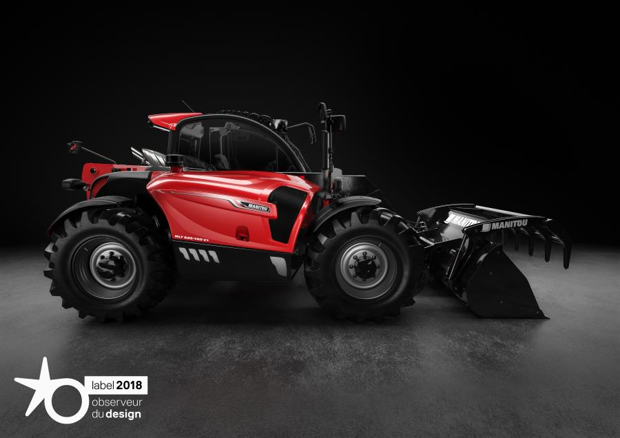 The Manitou group filed 8 patents while developing this NewAg range. In order to make its expertise known to the public, Manitou Group seized the opportunity of this ceremony to display one of the famous models from the NewAg range in front of the Pompidou Centre.