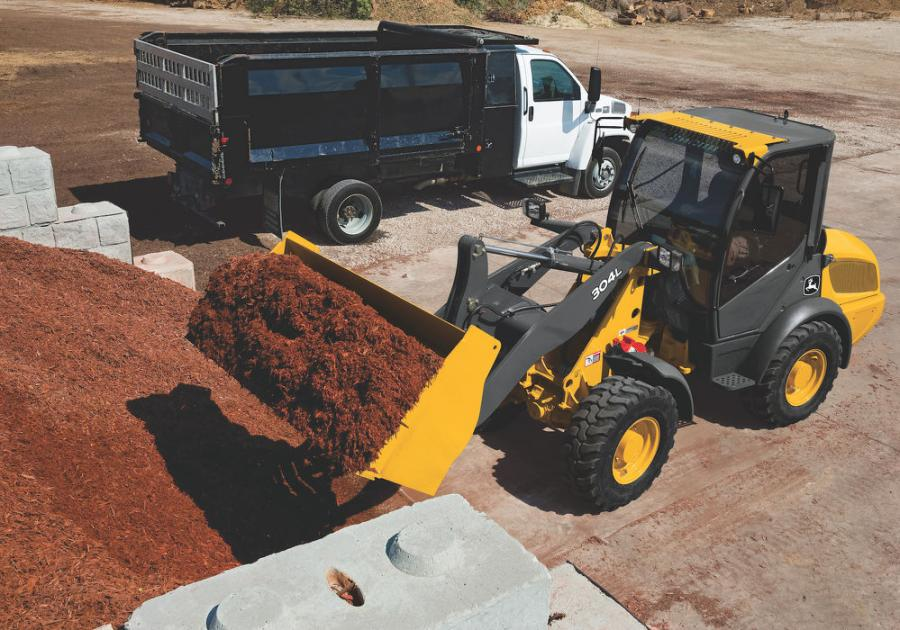 The L-Series compact wheel loaders are equipped with features to minimize maintenance. Hydraulically released, self-adjusting park and service brakes, ground-level maintenance points accessibility and excellent cooler access provide safer and easier means of machine upkeep.