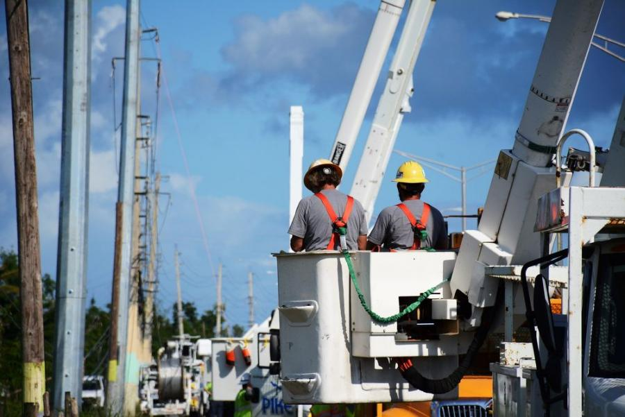 The competitively awarded contract includes evaluation, restoration, repair and replacement of structures and equipment supporting the electrical infrastructure of the island.