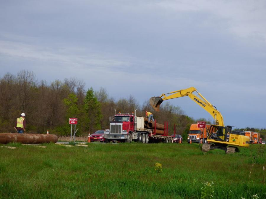 NYSDOT owns right-of-way along Route 31, with room to implement an environmental enhancement as part of the assignment. (NYSDOT photo)