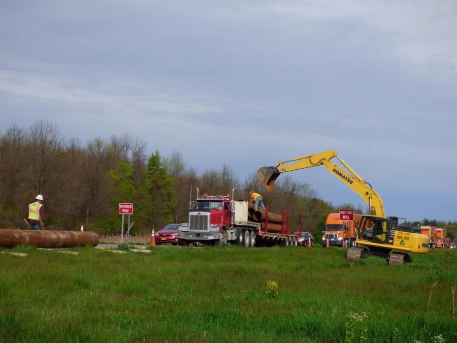 NYSDOT owns right-of-way along Route 31, with room to implement an environmental enhancement as part of the assignment.