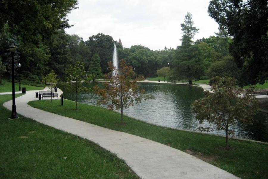 Ohio State's Mirror Lake