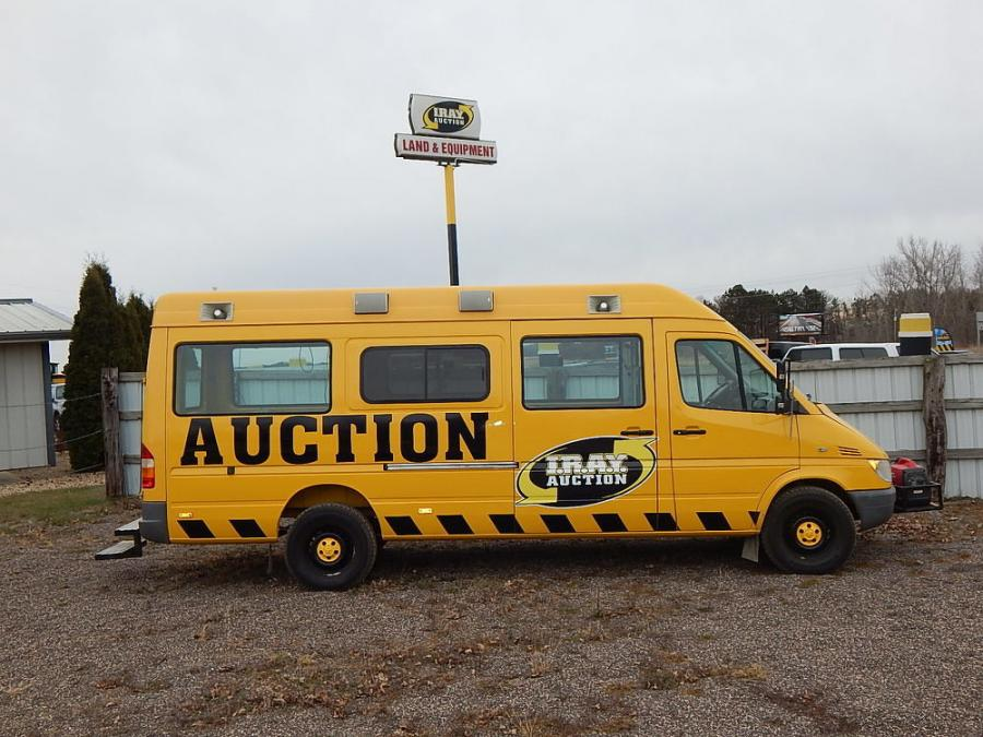I.R.A.Y.'s mobile auction platform vehicle.