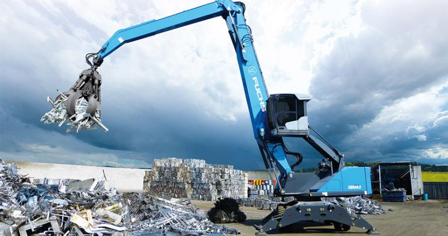 Erb Equipment Company recently announced that it has taken on the Terex/Fuchs line of material handlers.