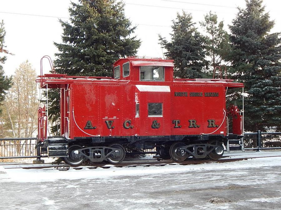 AVC & TRR caboose sold for $26,000 and will be converted into a hunting cabin.