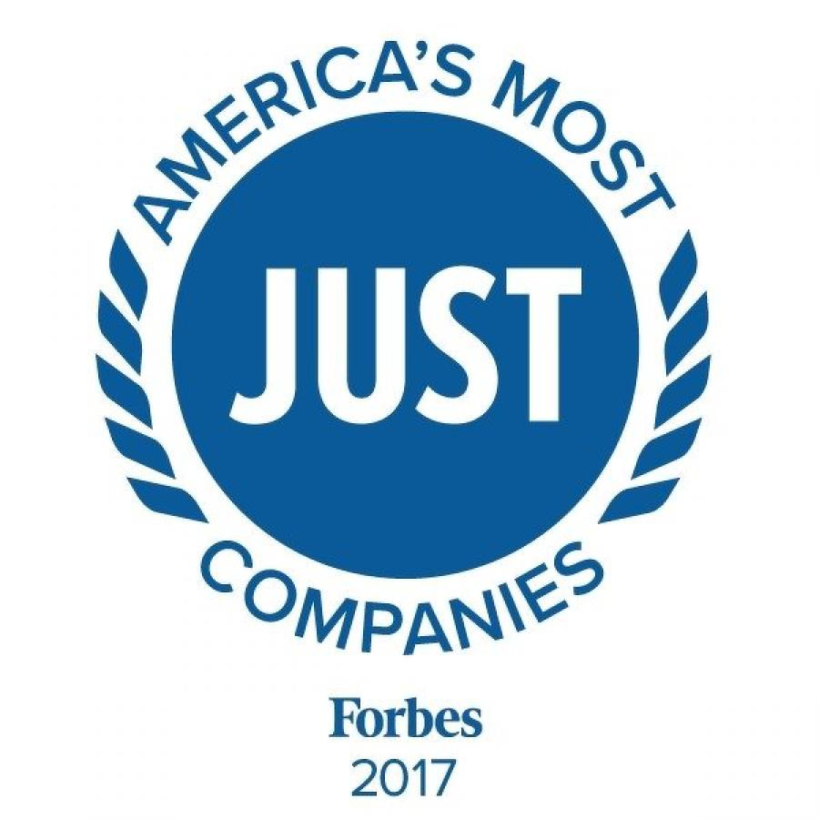 For the second annual listing, Forbes and JUST Capital ranked America's 1,000 largest publicly-traded companies on the issues that Americans care most about.