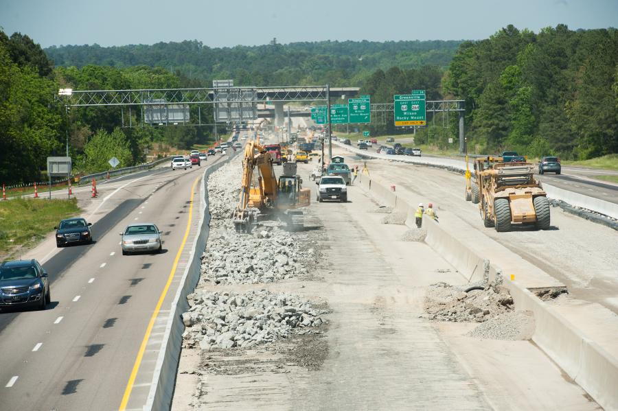 Started in May 2013, the North Carolina Department of Transportation's (NCDOT) $200 million Fortify I-40/I-440 Rebuild project — the 11.5-mile rebuild of a stretch of I-40/I-440 in southern Raleigh —will be fully completed in 2018.