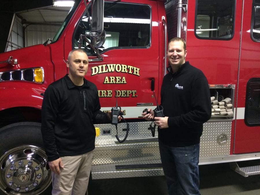 "Troy Kind, general manager in Moorhead, Minn., requested new radios for the Dilworth Area Fire Department. Dilworth Fire Chief, Mark Empting, was grateful for the support and said, ""This is great for the Dilworth Fire Department but also for the citizens of Dilworth."""